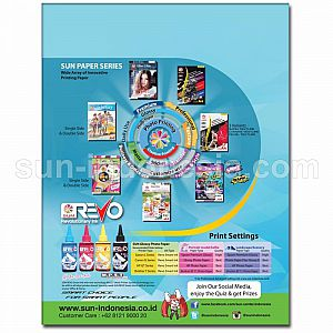 SUN Photo Glossy Next Generation Photo Paper Double Side A4