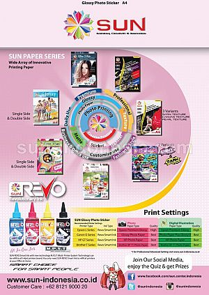 Next Generation Glossy Photo Sticker ULTRA THIN