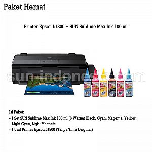 PRINTER EPSON L1800 TINTA SUN SUBLIME MAX 100 ML